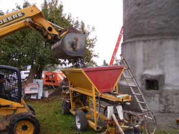 Dry Shotcrete/Gunite Mix Process